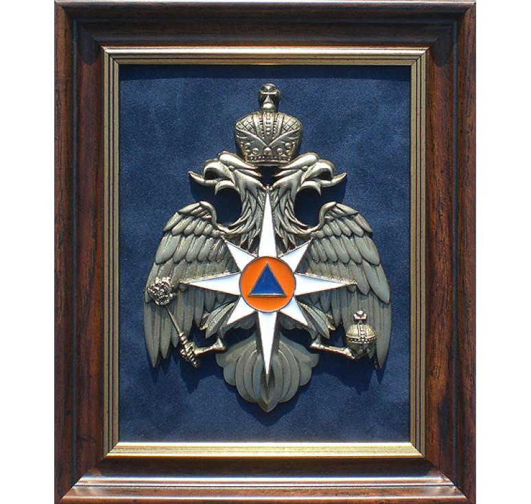 Плакетка «Эмблема МЧС России» малая