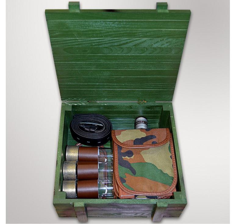 Подарочный набор «Патронташ охотничий №3»
