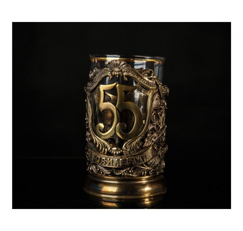 Подстаканник Юбилейный «55» (2D)
