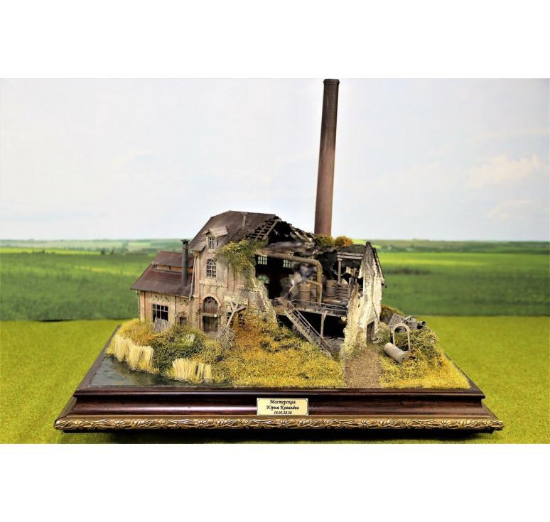 Руины заводского цеха