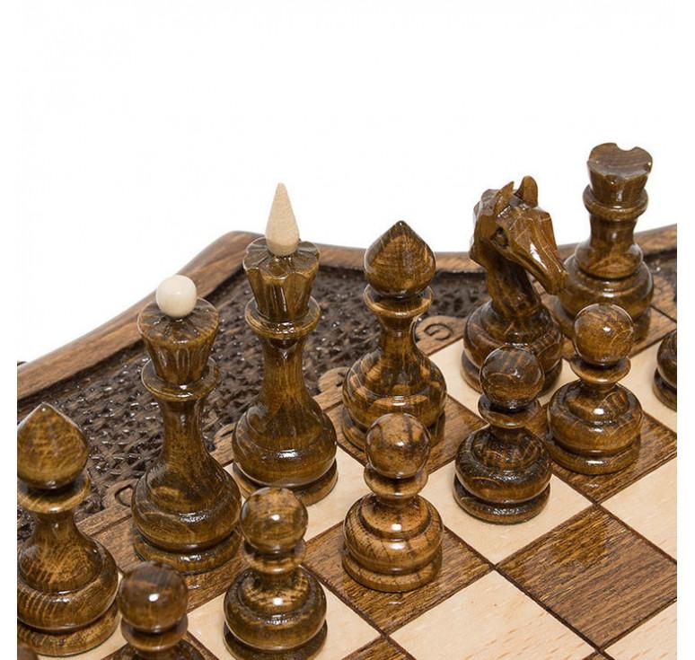 Шахматы резные «Декагон» 30, Ohanyan