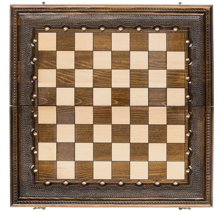 Шахматы+нарды резные «Классические» 60, Ohanyan