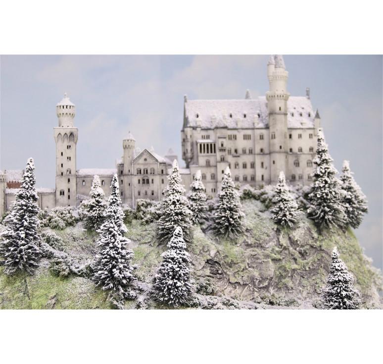 Замок «NEUSCHWANSTEIN» (Бавария. Зимний вид.)