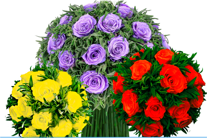 Стабилизированные цветы и букеты